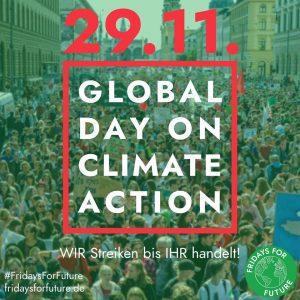 Fridays for Future ruft zum 4. Globalen Klimastreik auf